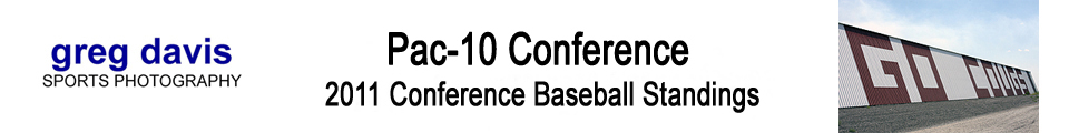 2011 Pac-10 Conference Baseball Standings
