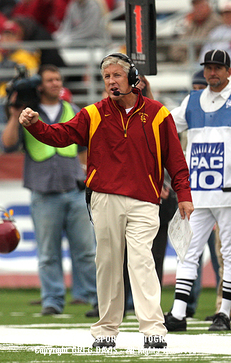 Pete Carroll - Southern Cal football