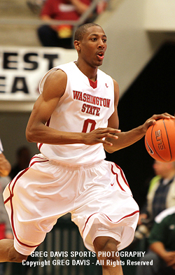 Marcus Capers - Washington State Basketball