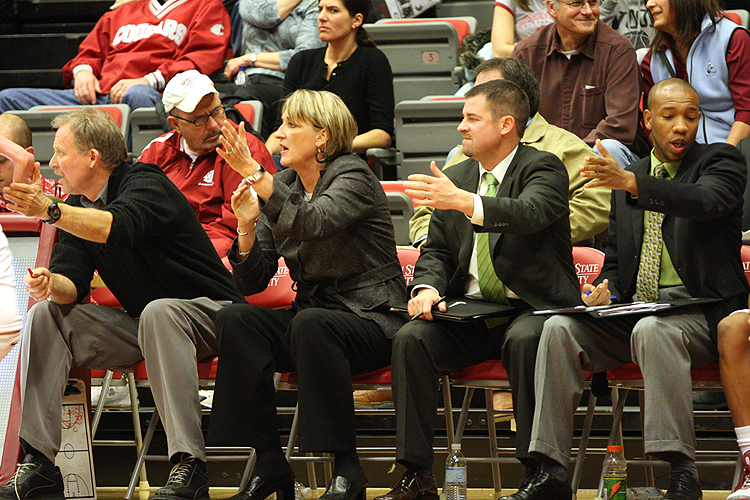 June Daugherty and Staff - Washington State Women's Basketball