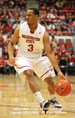 Reggie Moore - Washington State Basketball