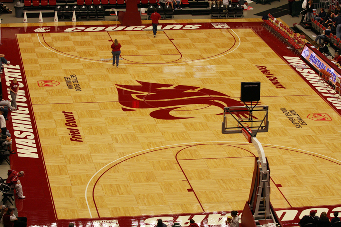 Friel Court at Beasley Coliseum - Washington State Athletics